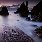 The old jetty at St Abbs by Graham Stirling