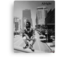 Kendrick Lamar - Alright (Music Video) LA Picture Canvas Print