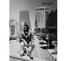 Kendrick Lamar - Alright (Music Video) LA Picture Photographic Print
