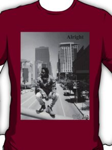 Kendrick Lamar - Alright (Music Video) LA Picture T-Shirt