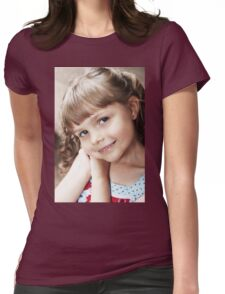 Hannah's Portrait Womens Fitted T-Shirt