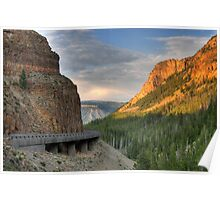 Golden Gate at Yellowstone  Poster