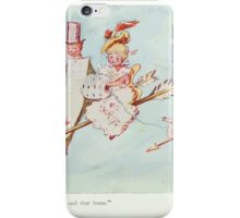 The Happy Heart Family Virginia Gearson 1907 0065 Jumped onto their Darts and Shot Home iPhone Case/Skin