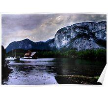 Afloat Under the Chief, Squamish, British Columbia Poster
