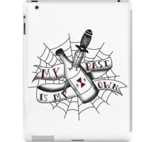 Black Widow Flash MKII iPad Case/Skin