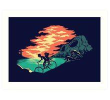 Love Adventure Art Print