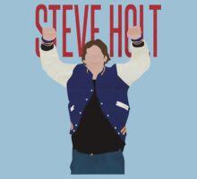 Steve Holt! by zcrb