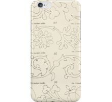 Briggs & Company Patent Transferring Papers Kate Greenaway 1886 0034 iPhone Case/Skin