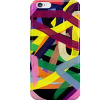 Crazy colors iPhone Case/Skin
