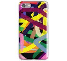 Crazy colors iPhone Case/Skin
