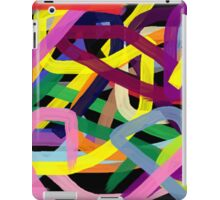 Crazy colors iPad Case/Skin