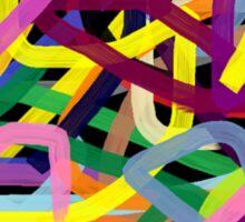 Crazy colors Sticker