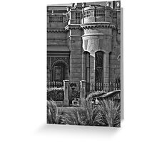 Beach house - Desaturated HDR Greeting Card