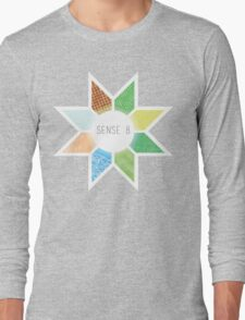 Sense8 Star Logo Yellow Long Sleeve T-Shirt