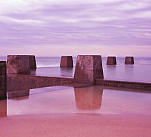 Coogee Baths by peter clark