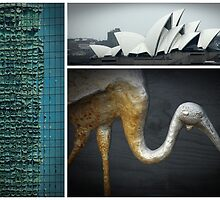 Sights of Sydney by Clare Colins