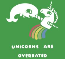 Unicorns Are Overrated Kids Clothes