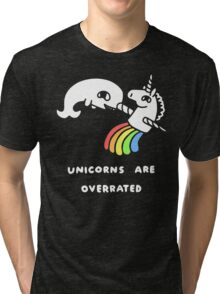 Unicorns Are Overrated Tri-blend T-Shirt