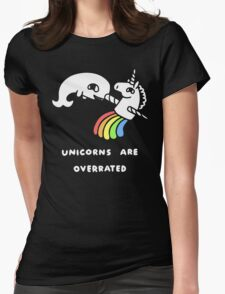 Unicorns Are Overrated Womens Fitted T-Shirt