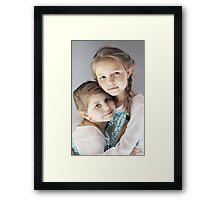 The HUG Framed Print