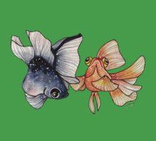 Goldfishes One Piece - Short Sleeve