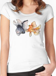 Goldfishes Women's Fitted Scoop T-Shirt