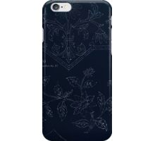 Briggs & Company Patent Transferring Papers Kate Greenaway 1886 0184 Inverted iPhone Case/Skin