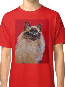 Siamese Cat Portrait Classic T-Shirt