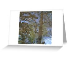 Treflection Greeting Card