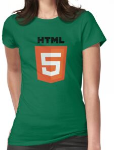HTML 5 Womens Fitted T-Shirt