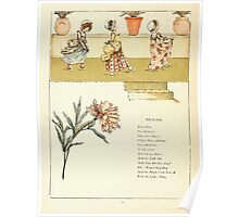 Marigold Garden Pictures and Rhymes Kate Grenaway 1900 0034 Tip a Toe Poster