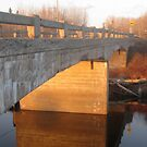 Bridge Over the Porcupine River by Christopher Clark