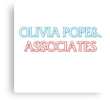 Olivia Pope & Order Canvas Print