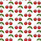Smiling Cherries Fruit Design by biglnet