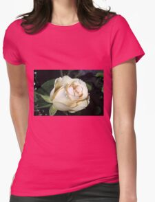 Classy In Cream Womens Fitted T-Shirt