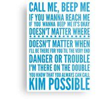 Call me, beep me Metal Print