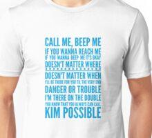 Call me, beep me Unisex T-Shirt