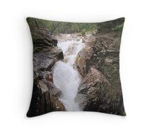Finch Hatton Gorge Waterfall Throw Pillow