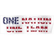 One Nation One Team | USWNT Poster