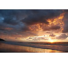 Sunrise at Crowdy Photographic Print
