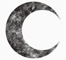 Moon Knight - Classic Symbol - Black Dirty by garudoh