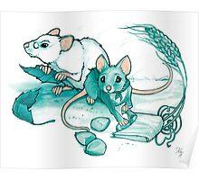 Mice's Harvest Poster
