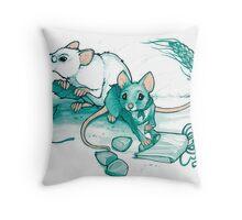 Mice's Harvest Throw Pillow