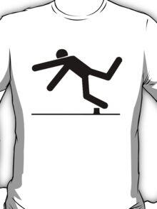Tripped, Tripping Man Icon T-Shirt