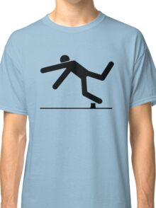 Tripped, Tripping Man Icon Classic T-Shirt