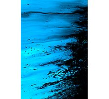 oil slick..... a paradise lost Photographic Print