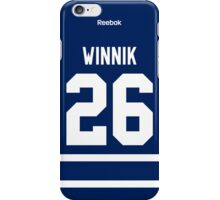 Toronto Maple Leafs Daniel Winnik Jersey Back Phone Case iPhone Case/Skin
