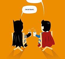 "Superhero Cut ""Break time"" by th2artworks"