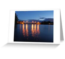 Dumaresq Bridge on Manning Greeting Card