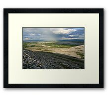 Evening at Mullaghmore Framed Print